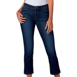 Womens Flex Motion Roll Cuff Jeans