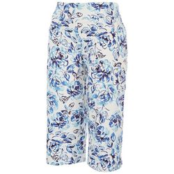 Coral Bay Womens Favorite Fit Cold Leaves Capris