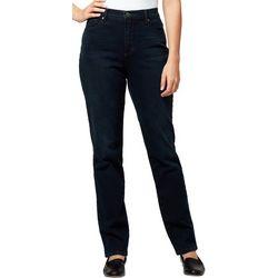 Gloria Vanderbilt Womens Amanda Twill Short Jeans