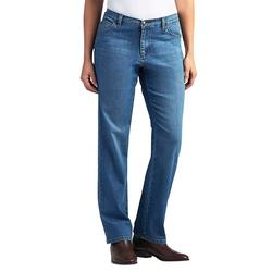 Womens Relaxed Straight Leg Jeans