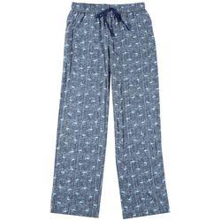 Mens Flamingo Print Pajama Pants