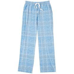 Mens Plaid Print Pajama Pants