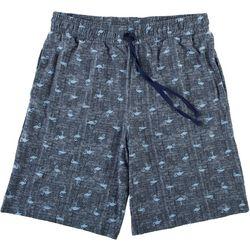 Ande Mens Flamingo Print Pajama Shorts