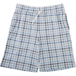 Ande Mens Gingham Pajama Shorts