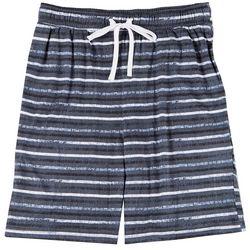 Mens Flint Stripe Pajama Shorts