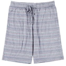 Mens Shibori Stripe Pajama Shorts