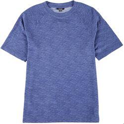 Ande Mens Short Sleeve Heather Pajama Shirt