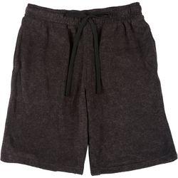 Mens Solid Limber Pajama Shorts