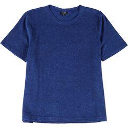 Mens Short Sleeve Solid Limber Pajama Shirt