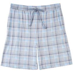 Ande Mens Plaid Pajama Shorts