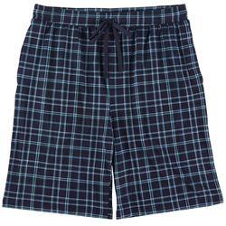 Ande Mens Plaid Printed Pajama Shorts