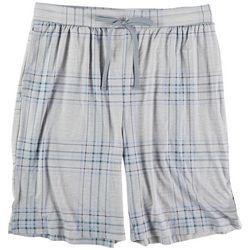 Ande Mens Plaid About Pajama Shorts