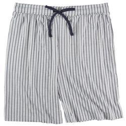 Mens About Plaid Printed Pajama Shorts