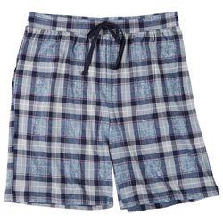 Ande Mens Tabitha Plaid Pajama Shorts