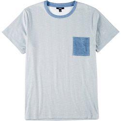 Ande Mens Textured Stripe Pocket Pajama Shirt