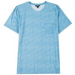 Ande Mens Space Dyed Pocket Pajama Shirt