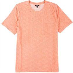 Mens Space Dyed Pocket Pajama Shirt