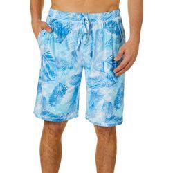 Mens Palm Reflection Pajama Shorts