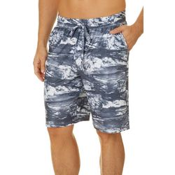 Reel Legends Mens Splash Pajama Shorts