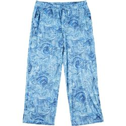 Reel Legends Mens Under Water Marble Pajama Pants