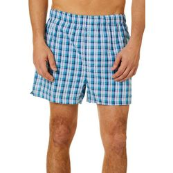Tommy Bahama Mens Plaid Woven Boxers