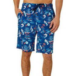 Tommy Bahama Mens Sea Life Bermuda Sleep Shorts