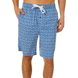 Tommy Bahama Mens Leaf Bermuda Sleep Shorts