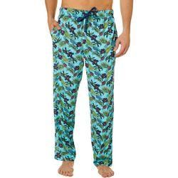 Mens Pineapple Floral Sleep Pants