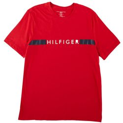 Tommy Hilfiger Mens Logo Front Short Sleeve Shirt