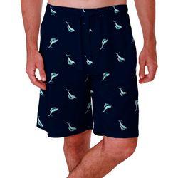 IZOD Mens Marlin Sleep Shorts