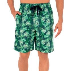 IZOD Mens Palms Sleep Shorts