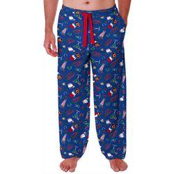 Mens Lets Get Lit Pajama Pants