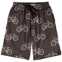 Lazy One Mens Bicycle Print Pajama Shorts