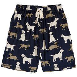 Lazy One Mens Labrador Print Pajama Shorts