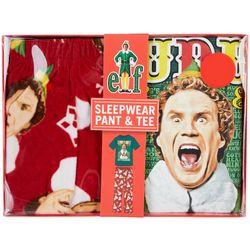 Briefly Stated Mens Buddy The Elf Nutcracker Pajama Set