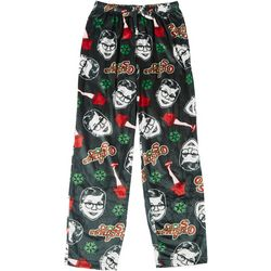 Mens Ralphie Face Print Pajama Pants