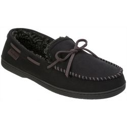 Mens Mircosuede Moccasin Slippers