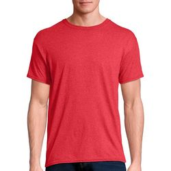 Hanes Mens Solid Tri-Blend Performance Crew T-Shirt
