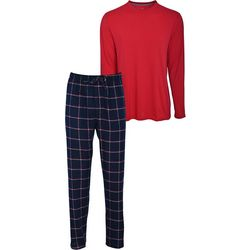 Hanes Mens 2-Pc. Flannel Pant Lounging Set