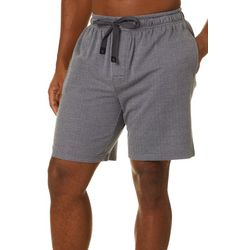 Haggar Mens Herringbone Sleep Shorts