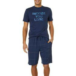 Haggar Mens 2-pc. Snooze You Lose Pajama Set