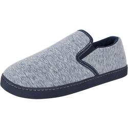 Mens Closed Back Twin Gore Comfort Slippers