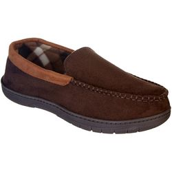 Weatherproof Mens Memory Foam Venetian Moccasin Slippers
