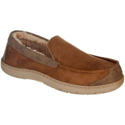 Mens Micro Vent Moccasin Slippers