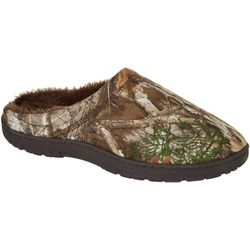 Realtree Mens Camo Slip-On Slippers