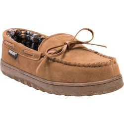 Mens Paul Suede Moccasin Slippers
