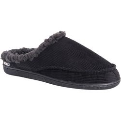 Mens Corduroy Clog Slippers