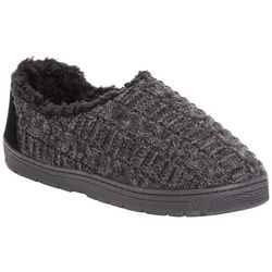 Muk Luks Mens John Knit Slippers
