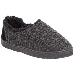 Mens John Knit Slippers