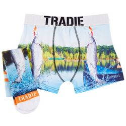 Mens Flippin Fish Socks 'N' Jocks